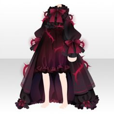 Fairy Tale Sleeping Beauty Dress ver.A red