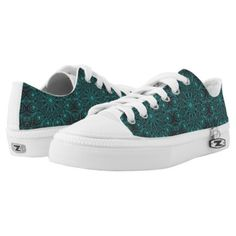 Peacock Inspirations Low-Top Sneakers - gift for him present idea cyo design