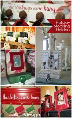 DIY Stocking Hanger Ideas