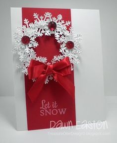 Let It Snow TLC456 by TreasureOiler - Cards and Paper Crafts at Splitcoaststampers