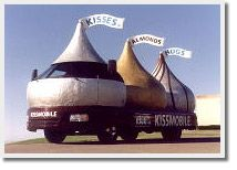 Have you ever seen a 12 ft. tall Hershey's Kiss? You can at the AACA Museum in Hershey! The famous Kissmobile!