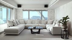 "Sofa ""VINTAGE MODEL"", in Suite Bedroom Hotel Arts Barcelona by Casadesús Furniture Design"