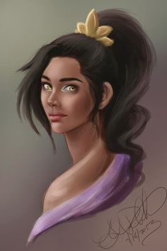 Nasuada by Eeddey.deviantart.com on @deviantART <-- I could actually see that being her.