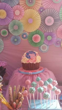 Peppa pig birthday party decoration ideas.