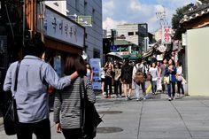 On the Streets of Seoul, Korea