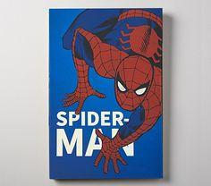 Art Wall Kids, Nursery Wall Art, Art For Kids, Pottery Barn Teen, Pottery Art, Marvel Wall Art, Superhero Names, Dark Material, Hippie Art