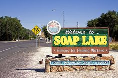 In the city council of Soap Lake, Wa. adopted chapter into the Soap Lake Municipal Code to encourage tiny homes. Washington Lakes, Washington State, Soap Lake, Stuff To Do, Things To Do, Natural Mineral Water, Wa State, Lake Resort, Tourist Information