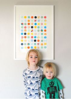 Kid-Made DIY Dot Art Mer Mag | Apartment Therapy