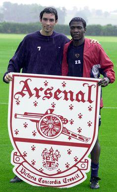 Robert Pires & Lauren - Arsenal