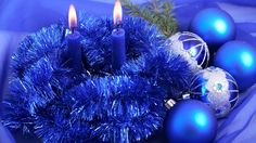 Blue Christmas - Other Wallpaper ID 1622468 - Desktop Nexus Abstract Christmas Candle Decorations, Blue Christmas Decor, Christmas Candles, Christmas Balls, Christmas Lights, Merry Christmas, Christmas Christmas, Christmas Ornaments, Christmas Posters