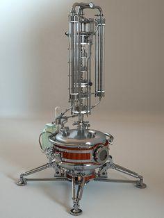 Chemistry Lab Equipment, Chemistry Labs, Essential Oil Distiller, Essential Oils, How To Make Oil, Barware, Clocks, Lamps, Root Beer