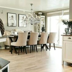 Flawless Dining room