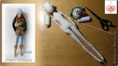 FREE Teenager Doll Pattern and tutorial by Olesia Falatyuk - OMG this doll pattern is pretty amazing! With a wire armature inside.
