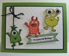 Make a monster card!