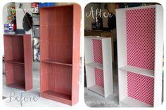 DIY bookshelf- painting laminate with no sanding!