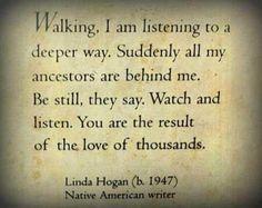 ancestors - native american wisdom