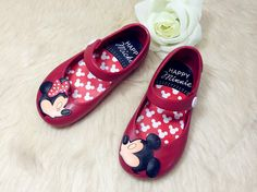 Mini Melissa girls jelly shoes - Mickey and Minnie mouse. Candy smell. $8.45 from Aliexpress