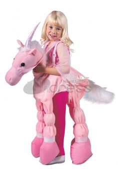 Halloween Costumes pink unicorn back Costume, the color is only for little girl, please do not buy wrong.