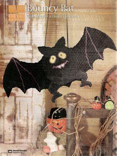 Halloween Bat Plastic Canvas Pattern by needlecraftsupershop, $4.00