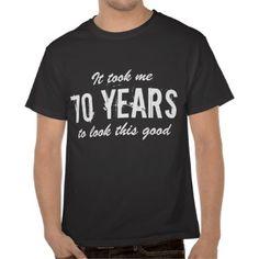 70th Birthday t shirt | Customizable