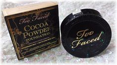 Color Me With Beauty: TOO FACED Cocoa Powder Foundation - Because a girl cannot resist chocolate Powder Foundation, Cocoa, Canning, Chocolate, Makeup, Face, Beauty, Make Up, Home Canning