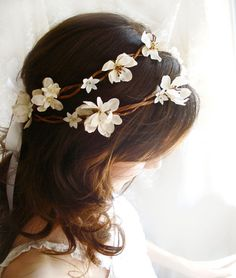 Would be cute on the flowergirl, maybe.. Someone should wear it! It's so pretty!