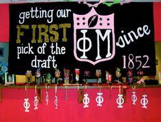 phi mu | sorority sugar  getting our 1st pick of the draft since 1852
