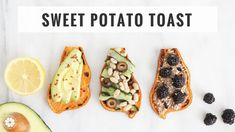 Sweet Potato Toast 3 Ways | Quick, Healthy Breakfast, Snack or Lunch | H...