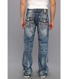 Mens Rock Revival Jeans Cheap