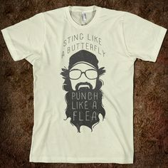 Sting Like a Butterfly Uncle Si t-shirt