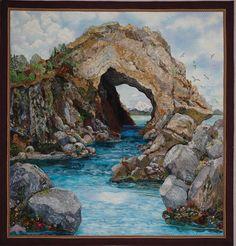 Fantastic landscape quilts