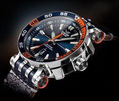 Wow! Was für eine Uhr. Die Energia Rocket Kollektion der Marke Vostok Europe überzeugt durch maskulines Design. Im uhrcenter Onlineshop findet Ihr eine breite Auswahl hochwertiger Armbanduhren von Vostok Europe. https://www.uhrcenter.de/uhren/vostok-eur https://uk.pinterest.com/925jewelry1/men-watches/pins/