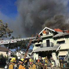 FEATURED POST  @losangelesfiredepartment -  Major Emergency Structure Fire today in Pico Union Korea town. Two large craftsman style homes fully involved with fire. #LAFD kept the homes standing and protected an adjacent home from damage.  Firefighters also rescued a dog and reunited it with the owner unharmed. Over 140 firefighters achieved knockdown in 1 hour 11 mins. 8/10/16 :LAFD  David Ortiz CHECK OUT! http://ift.tt/2aftxS9 . Facebook- chiefmiller1 Snapchat- chief_miller Periscope…