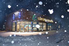 La confiserie sous la neige