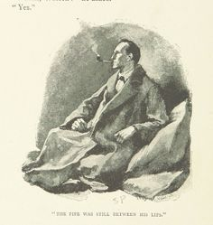 Sherlock Holmes, por Sidney Paget (1892)