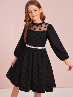 Cute Girl Dresses, Stylish Dresses For Girls, Kids Outfits Girls, Cute Girl Outfits, Cute Outfits For Kids, Little Girl Dresses, Little Girl Clothing, Emo Outfits, Girls Fashion Clothes