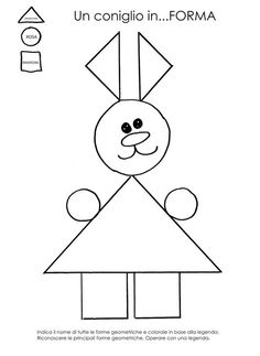 The Draw my picture game Preschool Math, Preschool Worksheets, Math Resources, Senses Activities, Preschool Activities, Teaching Kids, Kids Learning, Shapes Worksheets, Animal Crafts For Kids