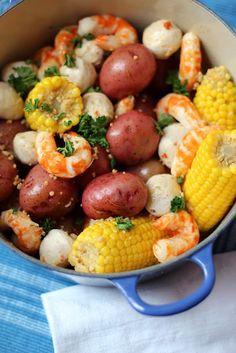 Shrimp Boil, hard decision, do I put it in my Good Eats or My Favorite!  I love it!