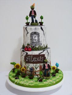 Plantas vs Zombies Cake