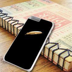 Black Gold Feather iPhone 6 Plus|iPhone 6S Plus Case