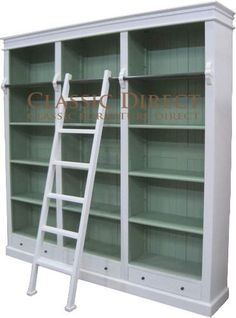 Don T Think The Ladder Is Needed With Stig Around Though Lemari Buku Impian French Provincial Bookcase Bookshelves