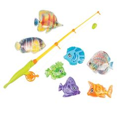Plastic Magnetic Fishing Game Party Supplies Canada - Open A Party Fishing Games For Kids, Fun Games For Kids, Kids Party Games, Birthday Party Games, Game Party, 2nd Birthday, Bag Toss Game, Ring Toss, Fish Shapes