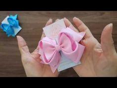 Laço Bela Madame By Iris Lima 🎀DIY 🎀 TUTORIAL 🎀 PAP - YouTube Diy Hair Bows, Diy Bow, Instruções Origami, Diy Hairstyles, Diy Tutorial, Diy And Crafts, Favors, Ribbon, Hairbows