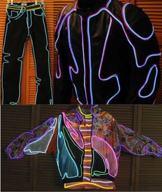 light up clothing - Google Search                              …