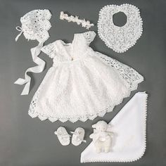 Shop our girls Christening gowns, dresses and outfits by collection. The perfect outfit for her Christening or Baptism. Christening Outfit Girl, Baby Girl Baptism, Christening Dresses, Toddler Baptism Dresses, Baby Set, Dresses Kids Girl, Dress Set, Dress Lace, Baby Blessing Dress
