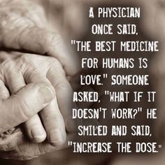 Love...for your health