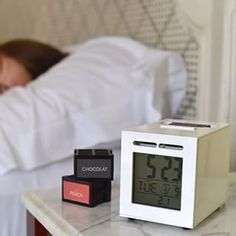 "Teenage developer Guillaume Rolland, a French engineering student, has come up with an olfactory ""alarm"" clock called SensorWake. At the appointed time, instead of sound or light, SensorWake softly emits a scent that promises to awaken you in two minutes"
