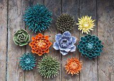 Ceramic Decorative Flowers