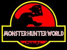 Monster Hunter World Jurassic Park by Delwynn