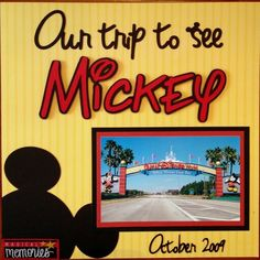Our trip to see Mickey - Two Peas in a Bucket